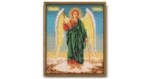 """Набор для вышивания икон из бисера """"Ангел Хранитель"""" Кроше"""
