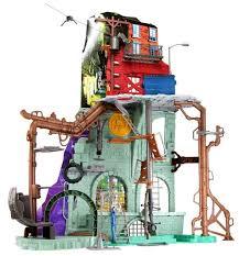 <b>Игровой набор Playmates TOYS</b> TMNT Секретная штаб-квартира ...