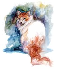 """Watercolor Painting of a Turkish <b>Van Cat</b>"" <b>Baby</b> T-Shirt by ..."