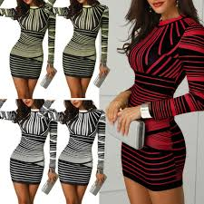 Women Mini Dress 2019 <b>Autumn Long Sleeve Bodycon</b> Casual ...