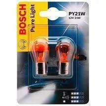 <b>Лампа</b> 12v-21w <b>BOSCH PY21W</b> (BAU15s) - уп. 10 шт.