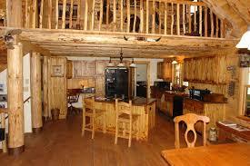 brown rustic kitchen island