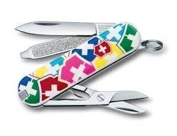 "<b>Нож</b>-<b>брелок</b> разноцветный ""<b>VX Colors</b>"" бренда Victorinox – купить ..."