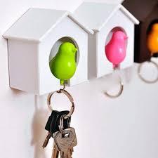 Новый стильный свисток птица <b>брелок</b> домик для <b>ключей</b>