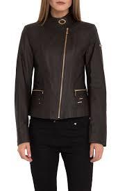<b>Кожаная куртка IPARELDE</b> арт B92_BROWN_TAFTA_GOLD ...
