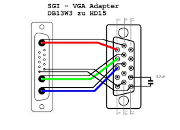 free schematic and wiring diagram for  vga connector wiring    trend wiring diagram
