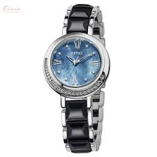 <b>Kimio Brand Women</b> Imitation Ceramic Watches <b>Luxury</b> Ladies ...