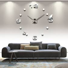 buy 3d diy creative wall sticker big wall clock home decoration wall decor hours single clock hot sale clock wall watch 12s006 in cheap price on alibabacom big unique diy wall clocks