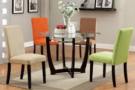 Round Dining Room Furniture Woodard Wrought Iron Spright Child Size Multi Colored Dining Set