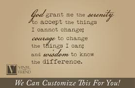 samples of personification lighting serenity prayer god grant me the serenity to accept the things i