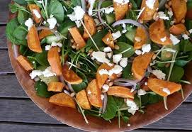 Image result for sweet potatoes spinach feta