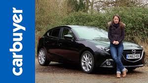 Black Mazda 3 Mazda3 Hatchback 2014 Review Carbuyer Youtube