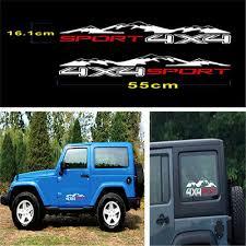<b>1Pair</b> Car Stickers For <b>Truck</b> Decal <b>SUV</b> JEEP <b>Pickup</b> Car Exterior ...