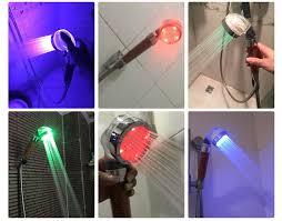 HOT <b>PVIVLIS</b> LED Anion <b>Shower</b> SPA <b>Shower</b> Head Pressurized ...