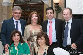 michel nahhas viviane edde nicolas sehnaoui fadi el khoury dinner of the itfl phoenicia hotel 19 2011