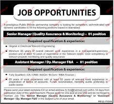 senior manager quality assurance job opportunity jobs senior manager quality assurance job opportunity