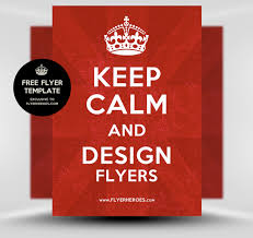 keep calm and carry on poster flyer template flyerheroes keep calm and carry on poster flyer template flyerheroes