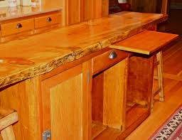 stand kitchen dsc: but first i want to show you one of the original  red fir cupboards with the breadboard still intact when mom remodeled the kitchen in  taking out