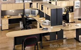 contemporary modular furniture system lets you build an office to suit your needs freestanding units can be added as your office grows bush home office furniture
