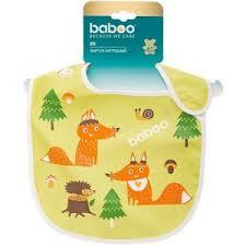 <b>Baboo нагрудник</b> непромокаемый Лисички 11605 — купить в ...