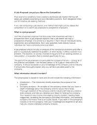 best photos of writing a job proposal template writing a job how to write a job proposal template
