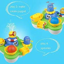 Spray <b>Fountain</b> Bath <b>Toys</b> Whale Island Bathtub <b>Toys Water</b> Pump ...
