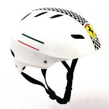 Ferrari Adult Kids Skateboard Helmet Hip hop Bicycle Scooter ...