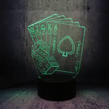 Креативная <b>3D</b> светодиодная USB <b>лампа</b>, волшебное ...