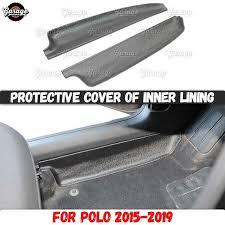 <b>Защитные накладки на внутренние</b> двери для Volkswagen Polo ...