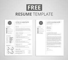 30 best clean cv resume templates designazure com resume template