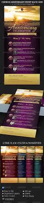 church anniversary events rack card template by godserv graphicriver church anniversary events rack card template church flyers