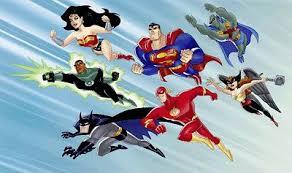 Resultado de imagen de la liga de la justicia serie