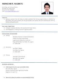 resume for teachers job application sample mis executive resumes resume for teachers job application job examples of resume for job application