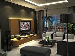 room apartment interior design home inerior style: black living room decoration ideas gray comfy couch decoration for living room ideas interior decorating