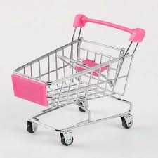 Buy Generic <b>Creative Supermarket Mini</b> Shopping Cart Trolley Metal ...