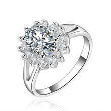 Женское <b>серебряное кольцо</b>, фианит, кристалл, <b>ювелирное</b> ...