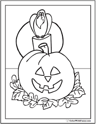 Small Picture Jack O Lanterns Coloring Pages Interesting Pumpkins Coloring