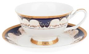 "<b>Best Home</b> Porcelain <b>Чайная пара</b> ""Indigo"" 200 мл (подарочная ..."