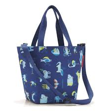 <b>Сумка</b>-<b>шоппер детская Reisenthel Shopper</b> Xs Abc Friends Blue ...