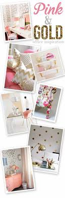 pink and gold office inspiration im re doing my home studio and bedroom sweat modern bed home office room