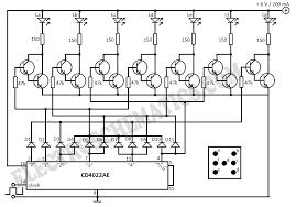 electronic dice circuitelectronic dice circuit diagram