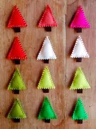 Felt Christmas Tree Pins | Purl Soho