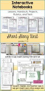 17 best ideas about presentation sample up and up short stories unit for interactive notebooks