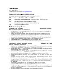 remarkable network and system administrator resume example for job remarkable network and system administrator resume example for job vacancy summary of qualifications