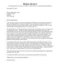 sample cover letter legal  seangarrette colaw firm cover letter example free