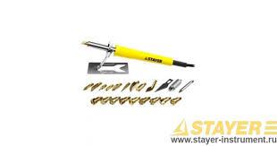 Прибор для выжигания <b>STAYER</b> 45227 серия PROFESSIONAL ...