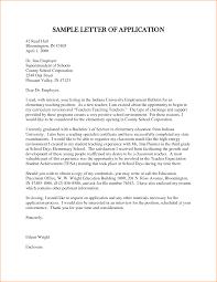 application letter for employment as a teacher basic job sample of letter of application for teacher