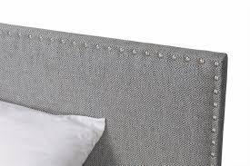 Кровать <b>Rovena серого</b> цвета 200х200 — купить по цене 65000 ...