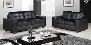 lavish curvy black leather sofa black sofa set office