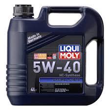 <b>Моторное масло</b> LIQUI MOLY Optimal Synth <b>5W-40 4 л</b> — купить в ...